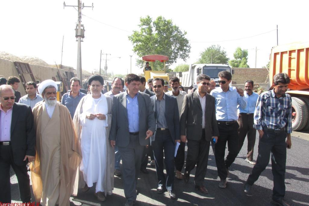 خدمات دولت و تدبیر و امید در منطقه اسفندقه جیرفت ستودنی است