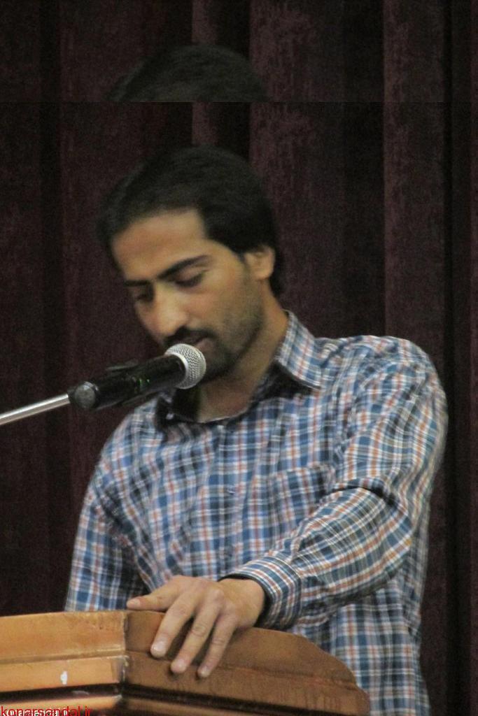 گفتگوی با محمدرضا براهام مسئول انجمن اهل قلم شهرستان جیرفت