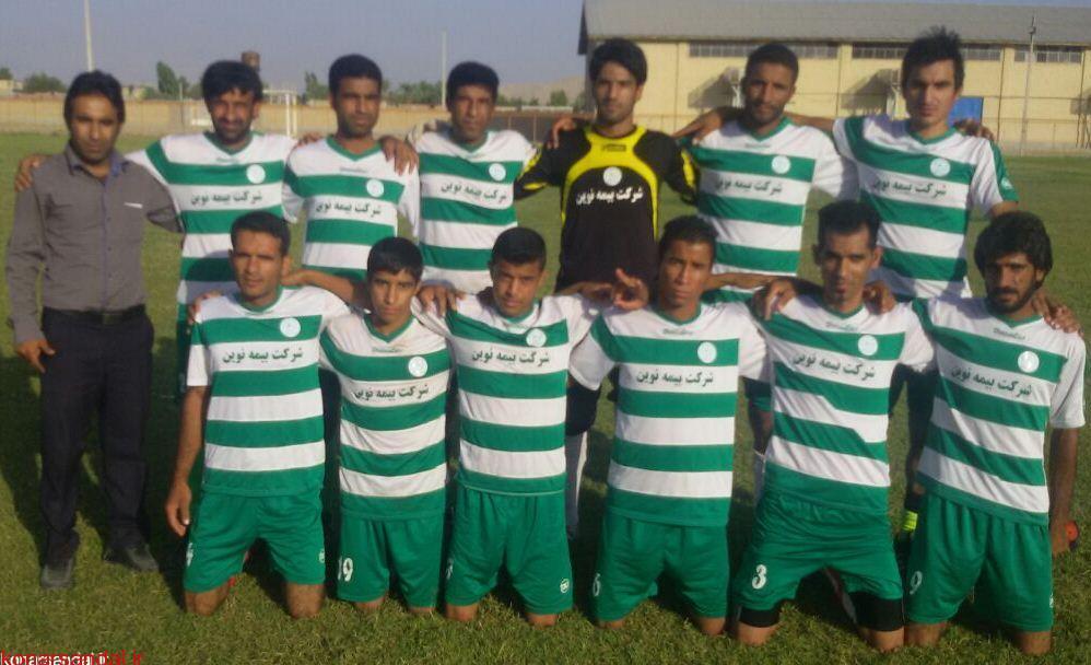 پایان مسابقات فوتبال زمین خاکی در جهادآباد عنبرآباد/ امیرآباد نظریان قهرمان شد.