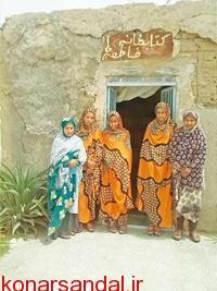 کتابخوانی به لطف فاطمهها در روستای دهکهان کهنوج