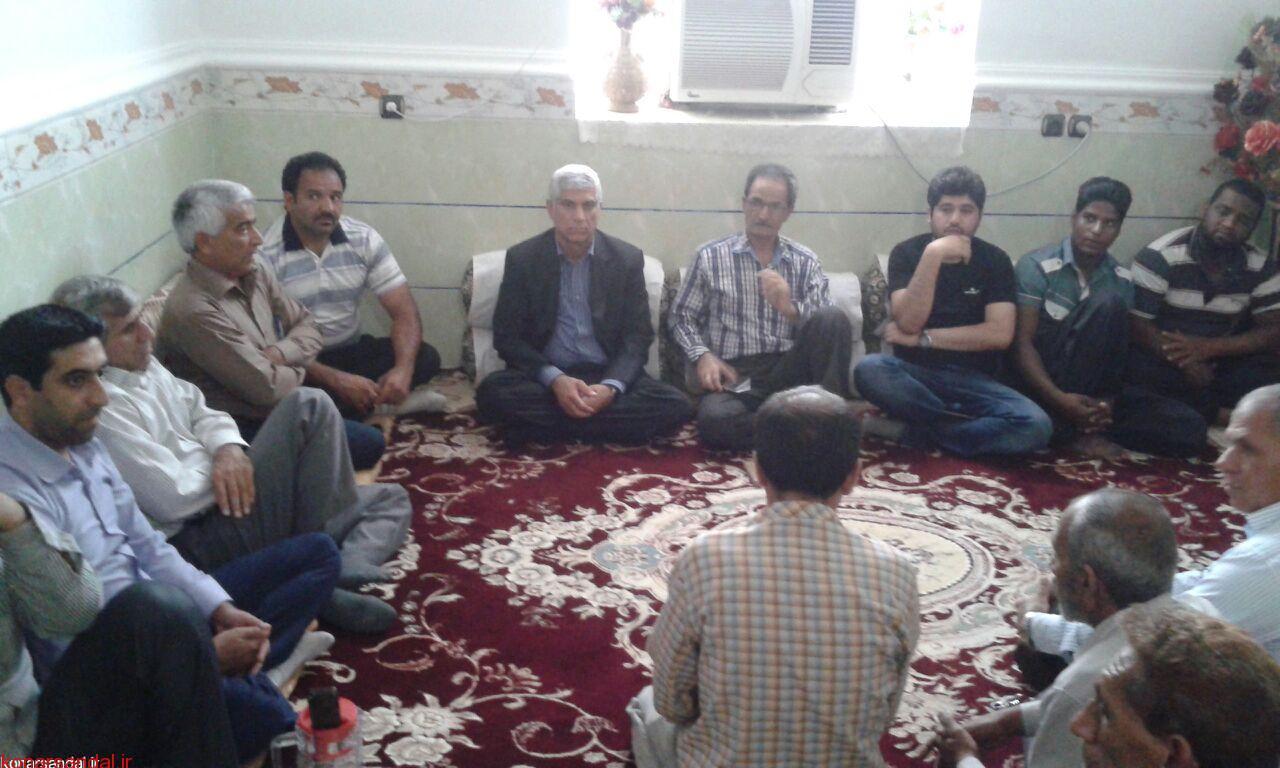 جلسه هم اندیشی دکتر اسلامپناه در بخش اسماعیلی برگزار شد / تصاویر
