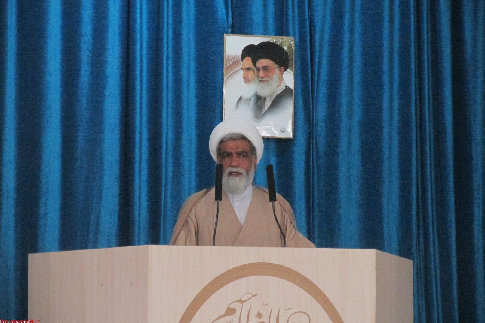 نماز جمعه این هفته جیرفت به روایت تصاویر