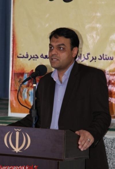 رئیس دانشگاه علوم پزشکی جیرفت در نماز جمعه عنوان کرد : احداث ۸ خانه پزشک در جنوب کرمان در دستور کار است