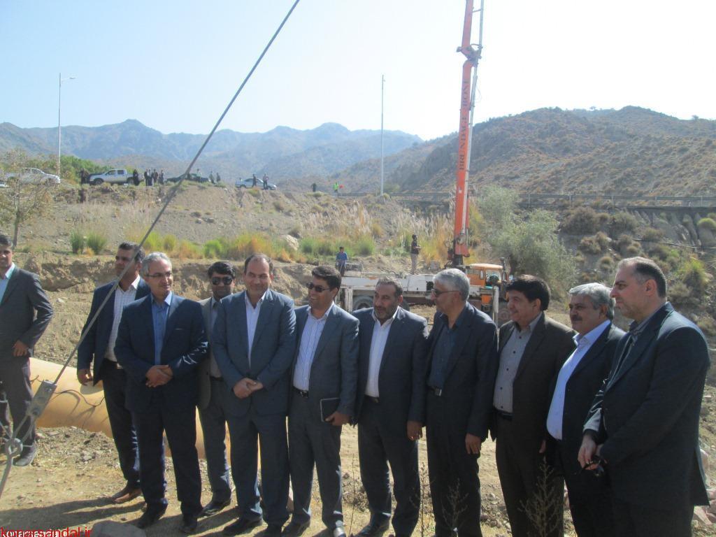سفر هیات رئیسه کمیسیون عمران مجلس به جنوب کرمان/تصاویر