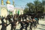عزاداری مردم روستای کلاب صوفیان در عاشورای حسینی / تصاویر