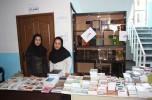 نمایشگاه کتاب به صورت داخلی در جهاد دانشگاهی جنوب کرمان در حال برگزاری است/تصاویر