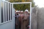 خانه عالم حسین آباد جدید افتتاح و کلنگ خانه عالم کریم آباد به زمین زده شد