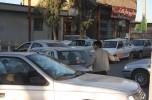 ترافیک سنگین در خیابان کشاورزی جیرفت و راننده ای که پلیس شد /تصاویر