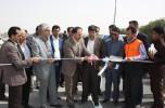 افتتاح بلوار پژوهش ،روستای علی آباد عمران را به بزرگراه خلیج فارس متصل کرد/تصاویر