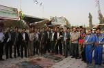 گلباران گلزار شهدا توسط کارکنان شرکت نفت ناحیه جیرفت/تصاویر