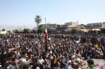 راهپیمایی فجر آفرین ۲۲ بهمن در جیرفت شهر دارالولایه برگزار شد /تصاویر
