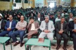 همایش تجلیل از نخبگان برتر سال ۹۴ شهرستان جیرفت برگزار شد /تصاویر
