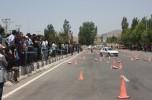 چهارمین دوره مسابقات بزرگ اتومبیلرانی اسلالوم در ساردوییه جیرفت برگزار شد /تصاویر