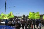 راهپیمایی مردم دولت آباداسفندقه درروز قدس/تصاویر