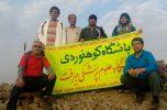 صعود باشگاه کوهنوردی علوم پزشکی جیرفت به قله نشانه ساردوئیه/تصاویر