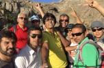 قله نشانه ساردوئیه توسط هیئتی از کوهنوردان جیرفتی و کهنوجی فتح شد / تصاویر
