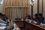 نشست معاون استاندار با اعضای خانه مطبوعات جنوب کرمان