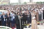 شکوه، معنویت و زیبایی تعریفی از نماز عید فطر امروز جیرفت/تصاویر