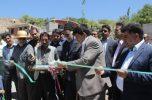 فاز نخست طرح هادی روستای کهنوج سادات با اعتبار یک میلیارد ریال به بهره برداری رسید/تصاویر