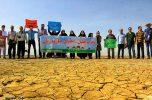 خبرنگاران برای نجات هلیل و احیای جازموریان ازهیچ کوششی دریغ نمی کنند /تصاویر