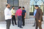 تجهیز مسجدصاحب الزمان(عج) جیرفت به زمین ورزشی