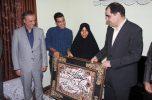 افتتاح مرکز آموزش بهورزی و مراقبت سلامت کهنوج / وزیر بهداشت مهمان خانواده شهید شهسواری/تصاویر