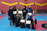 ۳ مدال طلا حاصل کونگ فو کاران بانوان عنبرآباد در مسابقات قهرمانی استان / تصاویر