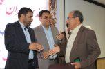 مراسم تودیع و معارفه رئیس شبکه بهداشت و درمان شهرستان عنبرآباد برگزار شد / تصاویر