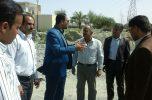 فرماندار کهنوج از پروژه های شهری بازدید کرد