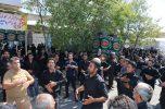 مراسم عاشورای حسینی در شهر جبالبارز جیرفت به روایت تصاویر