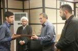 تقدیر از کسب مقام برتر پایگاه بسیج دانشجویی دانشگاه جیرفت در جشنواره مالک اشتر