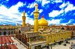 ایستگاه صلواتی امامزاده سلطان سید احمد ساردوئیه در مرز چزابه برای زائرین امام حسین (ع)