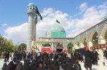 مردم سوگوار ساردوئیه با شرکت  در مراسم تاسوعای حسینی در سوگ سالار شهیدان عزاداری کردند / تصاویر