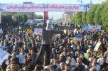 مراسم بزرگداشت حماسه ۹ دی در شهرستان جیرفت برگزار شد/تصاویر