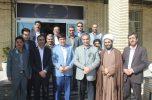 دیدار کارکنان و رئیس جدید دانشگاه آزاد اسلامی واحد جیرفت با فرماندار جیرفت