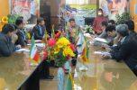 جلسه مشترک مراجع قضایی شهرستان عنبرآباد در جهت کاهش جمعیت کیفری مددجویان برگزار شد