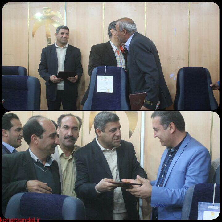 مهندس محمدرضا واحدی به عنوان مدیر رفاه و پشتیبانی سازمان جهاد کشاورزی جنوب کرمان منصوب شد /تصاویر