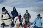 صعود به قله نشانه بحرآسمان ساردوئیه به روایت تصاویر