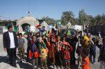 ۲۰۰ بسته اقلام فرهنگی توسط موسسه فرهنگی و هنری سفیران جنوب کرمان در جیرفت توزیع شد