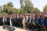 پیکر مرحوم حاج سیف الله شهدا نژاد در بهشت زهرای عنبرآباد آرام گرفت / تصاویر