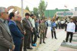حضور جمعی از مسئولین شهرستان جیرفت به مناسبت فرارسیدن سال نو در گلزار شهدا