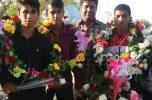 درخشش ورزشکاران جیرفتی در مسابقات دومیدانی کشور