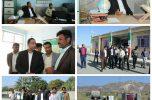 فرماندار کهنوج از روستاهای بارگاه علیا، بارگاه سفلی، زمین بند و دهکهان بازدید کرد