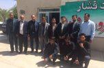 واحد دامپزشکی بخش جبالبارز جنوبی در عنبرآباد افتتاح شد