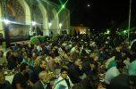 مراسم احیای شب قدر در جوار حرم مطهر امامزاده سلطان سیداحمد(ع) ساردوئیه به روایت تصاویر
