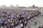 نماز عیدفطر در جیرفت به روایت تصاویر