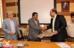 تفاهم نامه راه اندازی رشته حمل و نقل بعنوان دومین شهر کشور در جیرفت، امضاء شد
