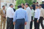 بازدید معاون وزیر دفاع از پادگان در حال احداث ارتش شهرستان کهنوج