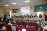 بیست و چهارمین جلسه شورای گفتوگوی استانی دولت و بخش خصوصی در جیرفت برگزار شد
