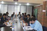 جلسه بررسی مشکلات حوزه اشتغال روستایی و گردشگری شهرستان جیرفت برگزار شد